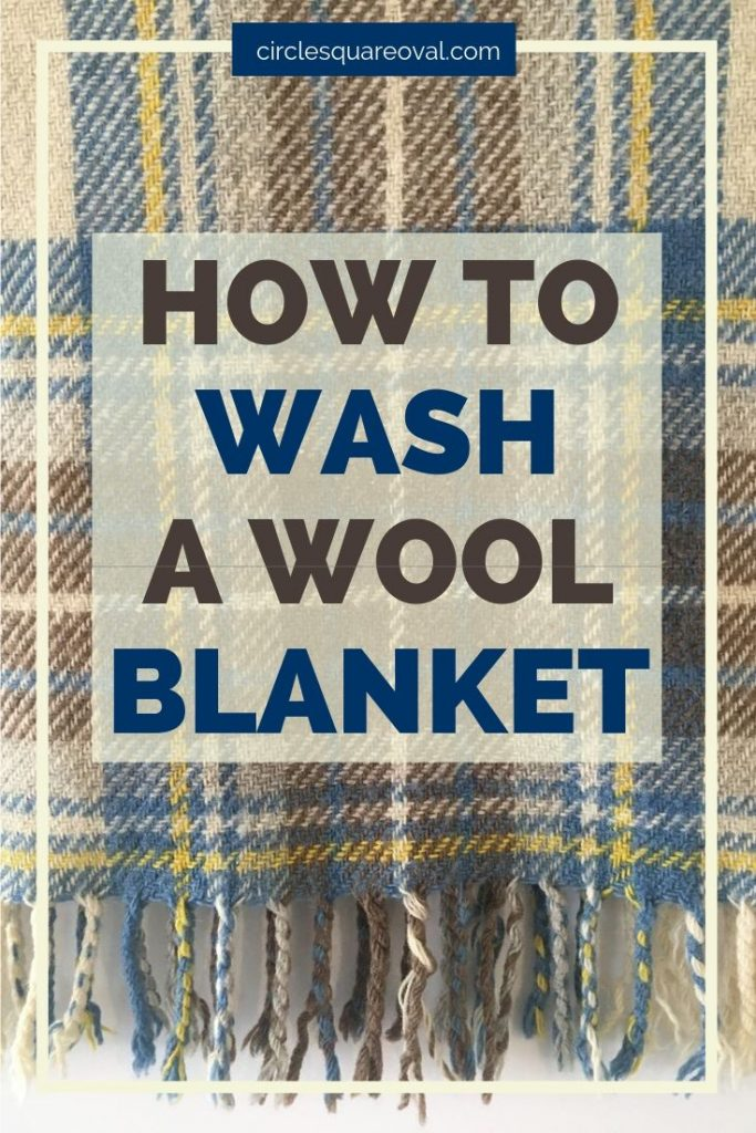 how to wash a wool blanket