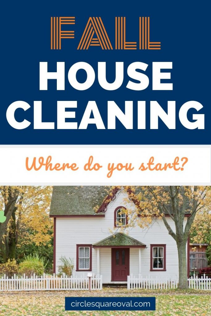 white house, fall house cleaning