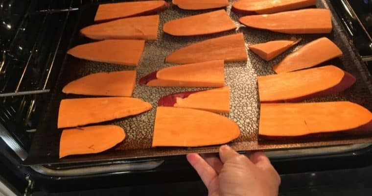 Homemade Sweet Potato Dog Chews