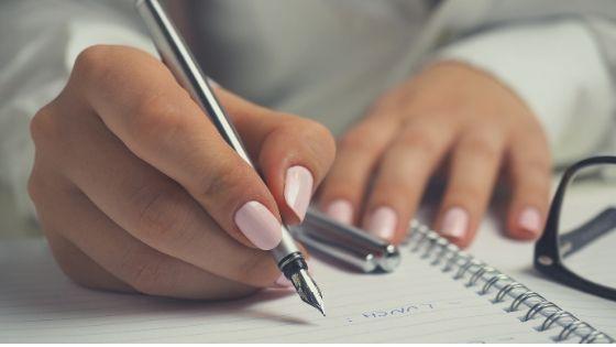 use checklist to stay organized