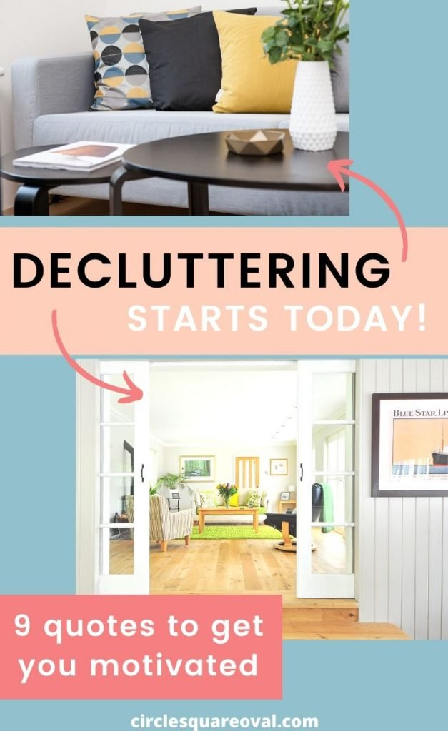 motivation to start decluttering