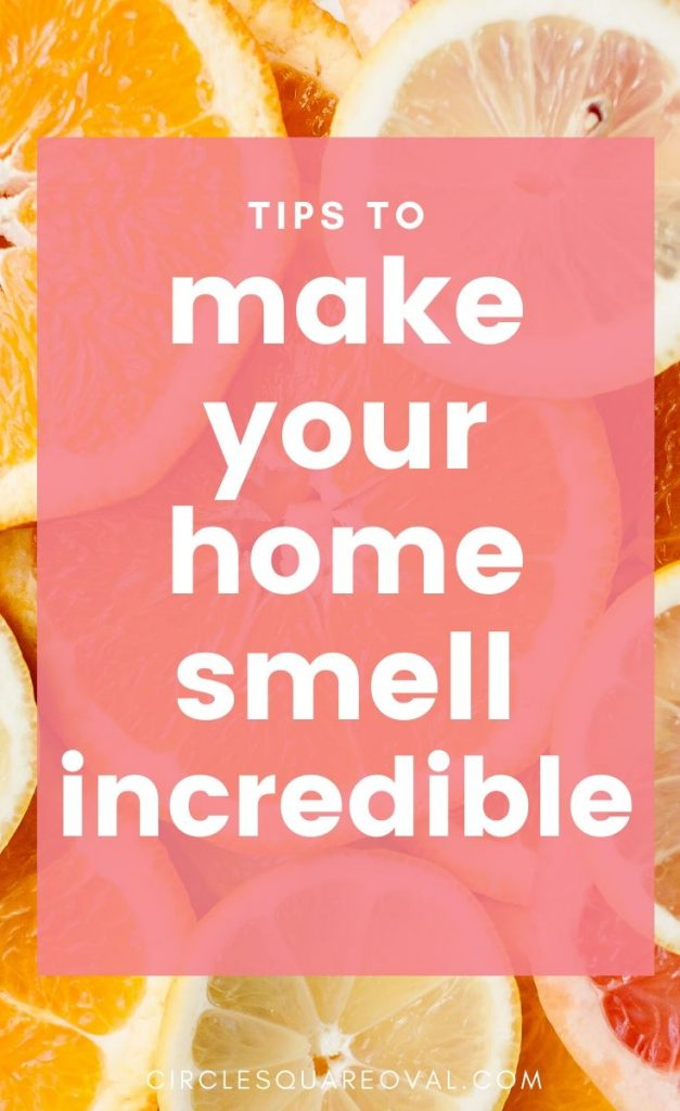 home fragrance from a crockpot