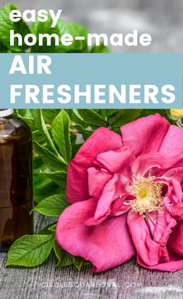 home-made air fresheners with essential oils