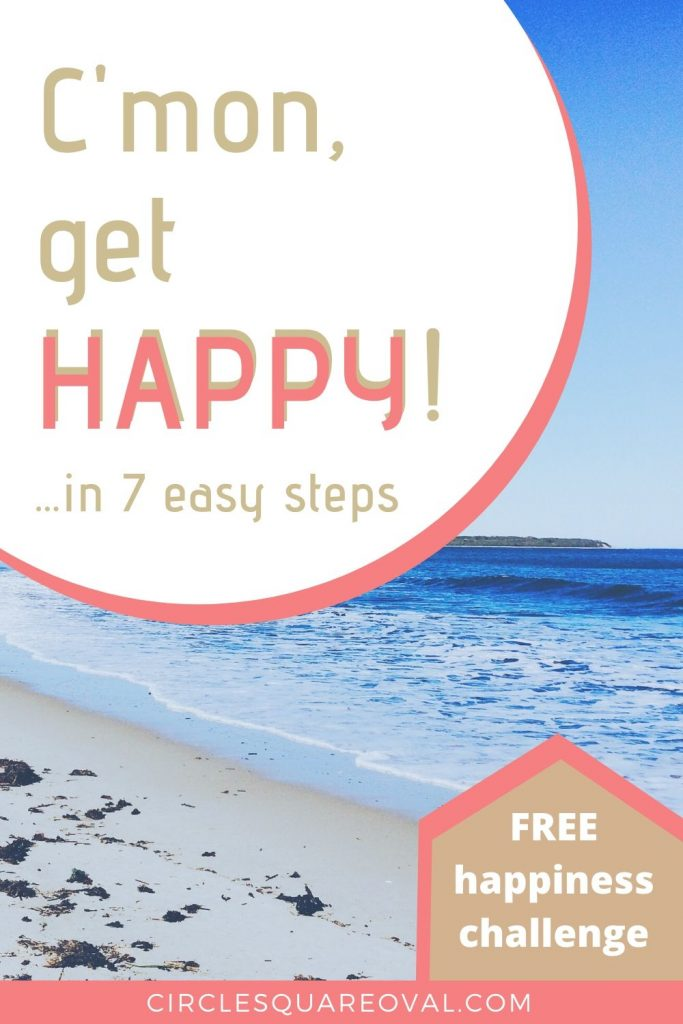 seven steps to be happier, beach and ocean on a sunny day