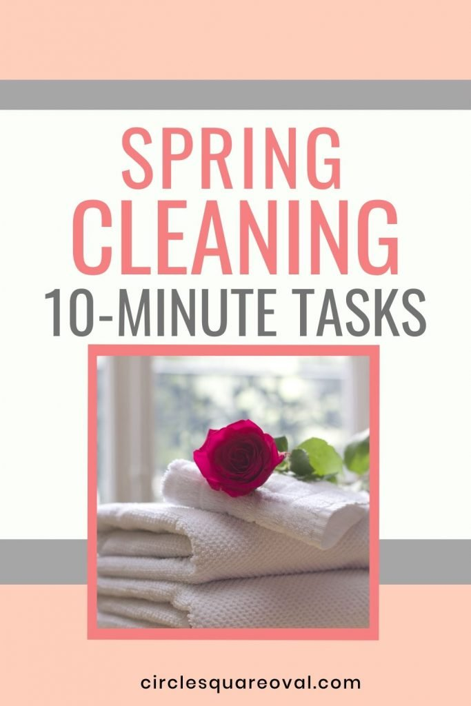 quick and easy spring cleaning projects