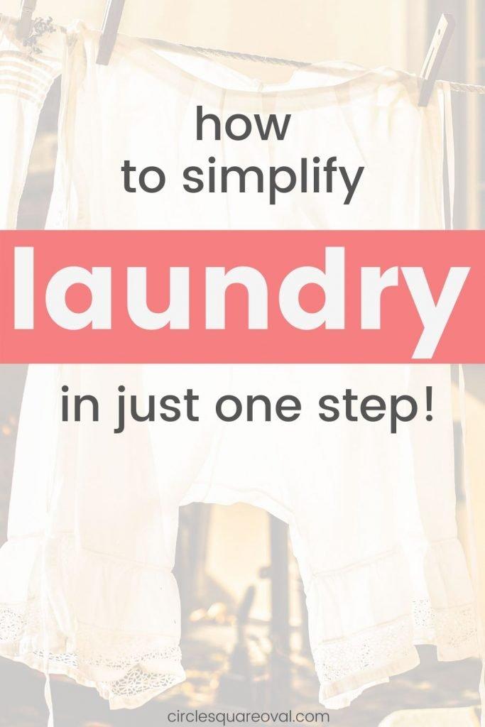 make laundry easier