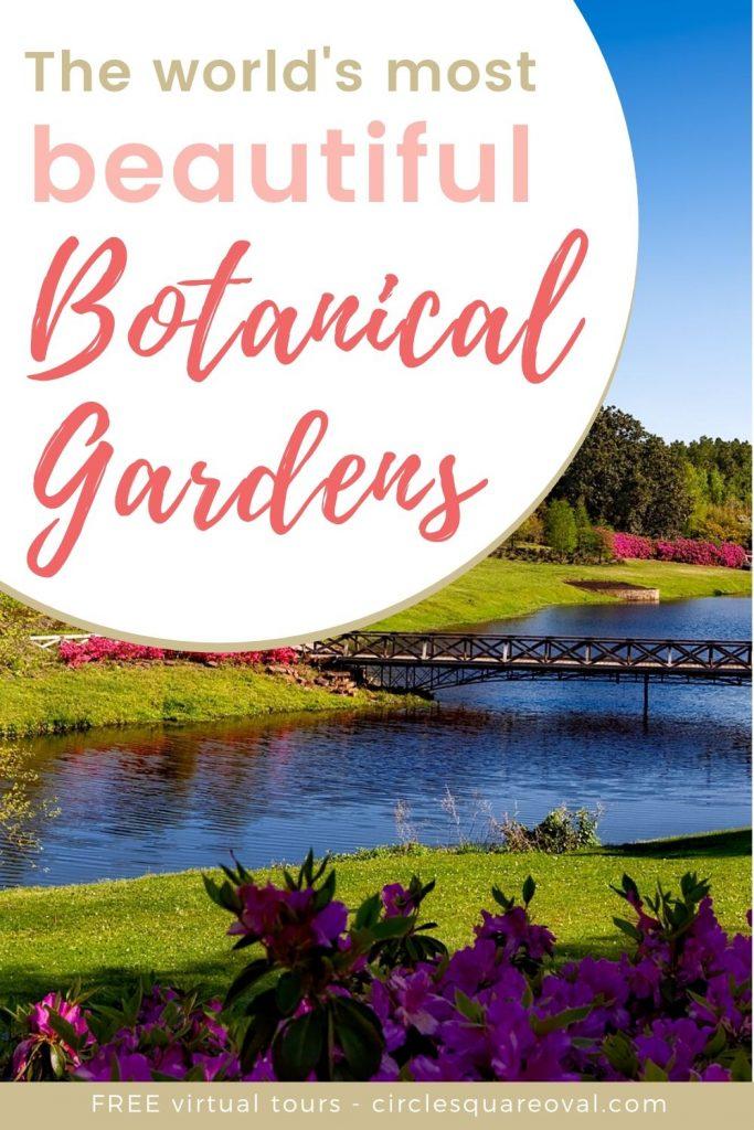 virtual tours of botanical gardens