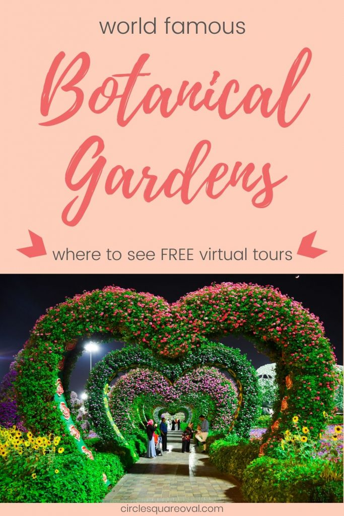 virtual tours of botanical gardens