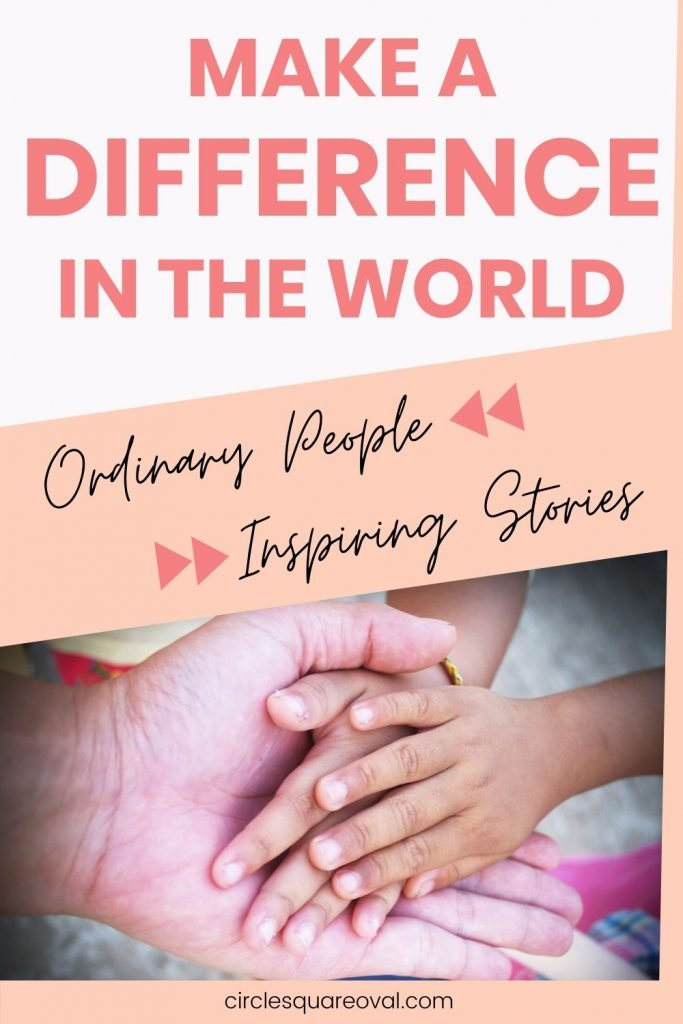 make a difference day with inspiring stories from ordinary people