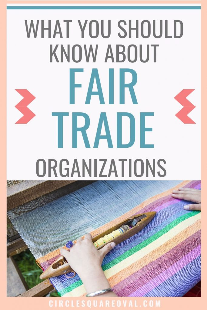 what you should know about fair trade organizations, photo of artisan weaver and striped cloth