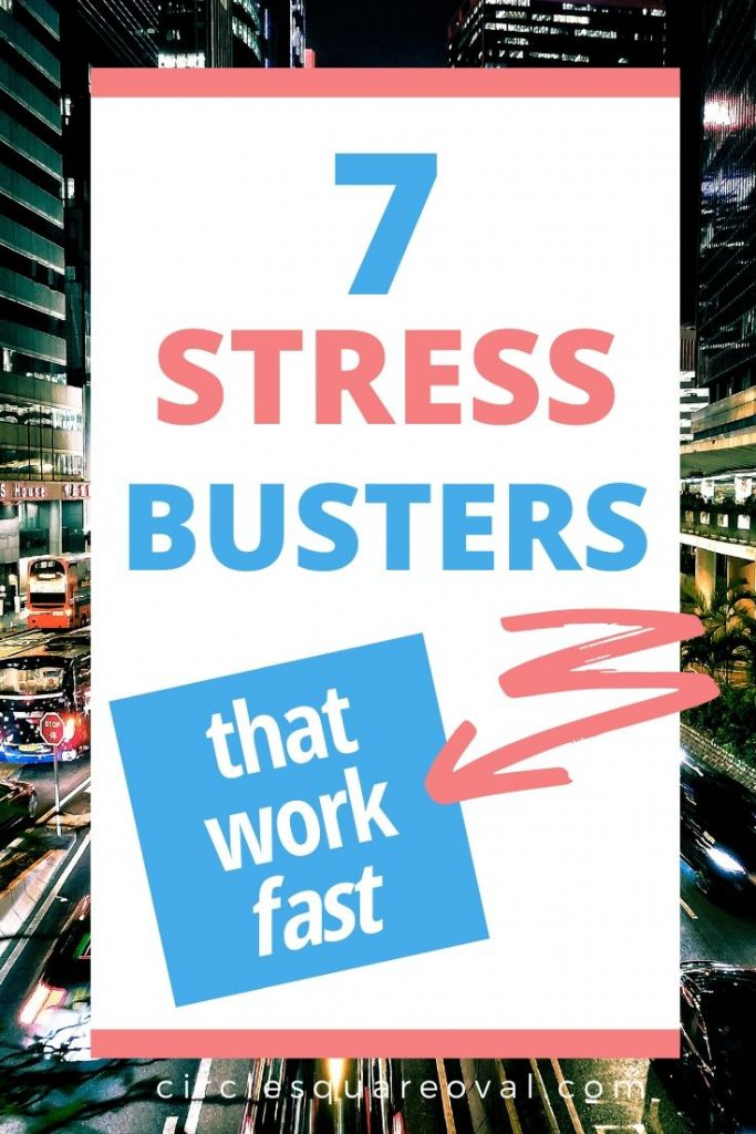 7 fast ways to reduce stress
