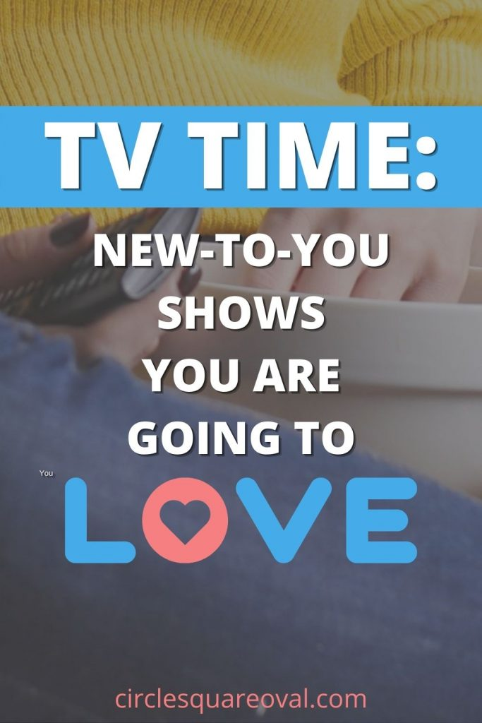 woman in yellow shirt and jeans holding tv controller and bowl, getting ready to binge tv show