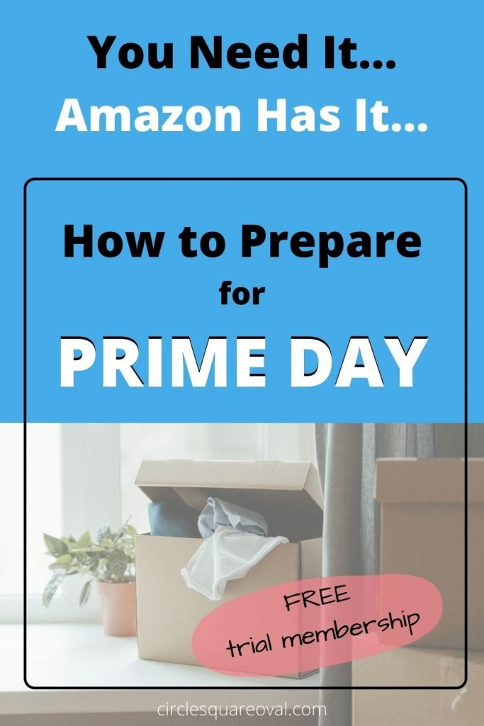 shopping with Amazon Prime, one open box next to plant and several stacked boxes
