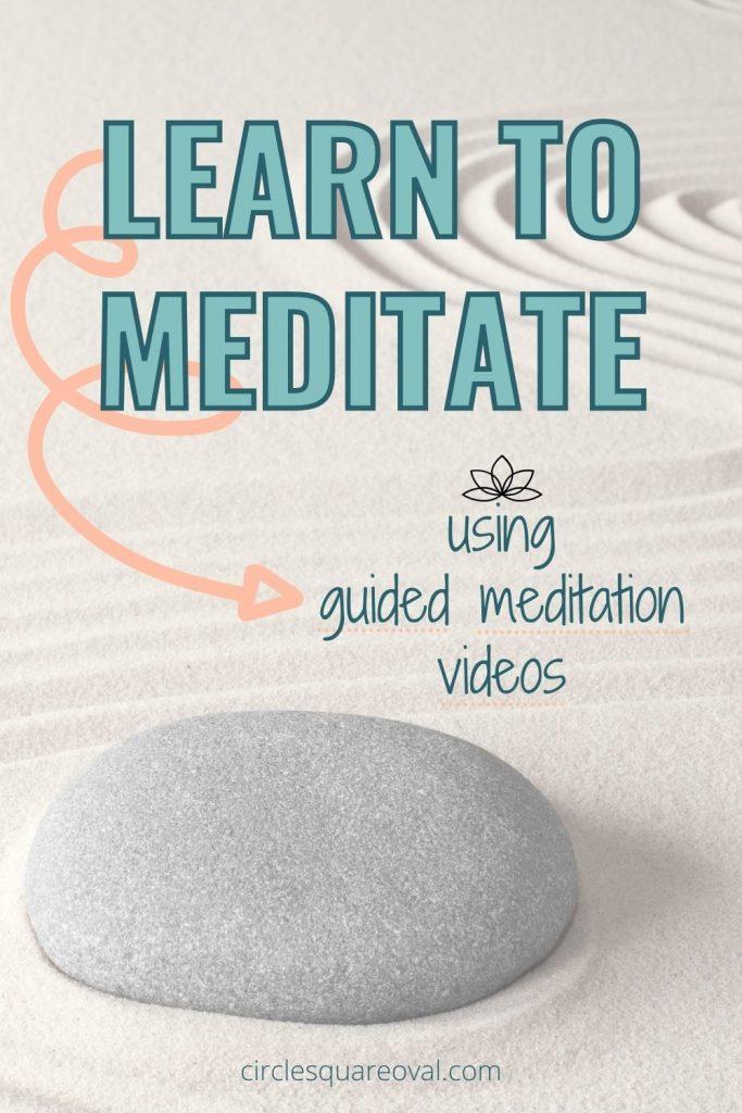 rock and meditation garden, guided meditation forbeginners