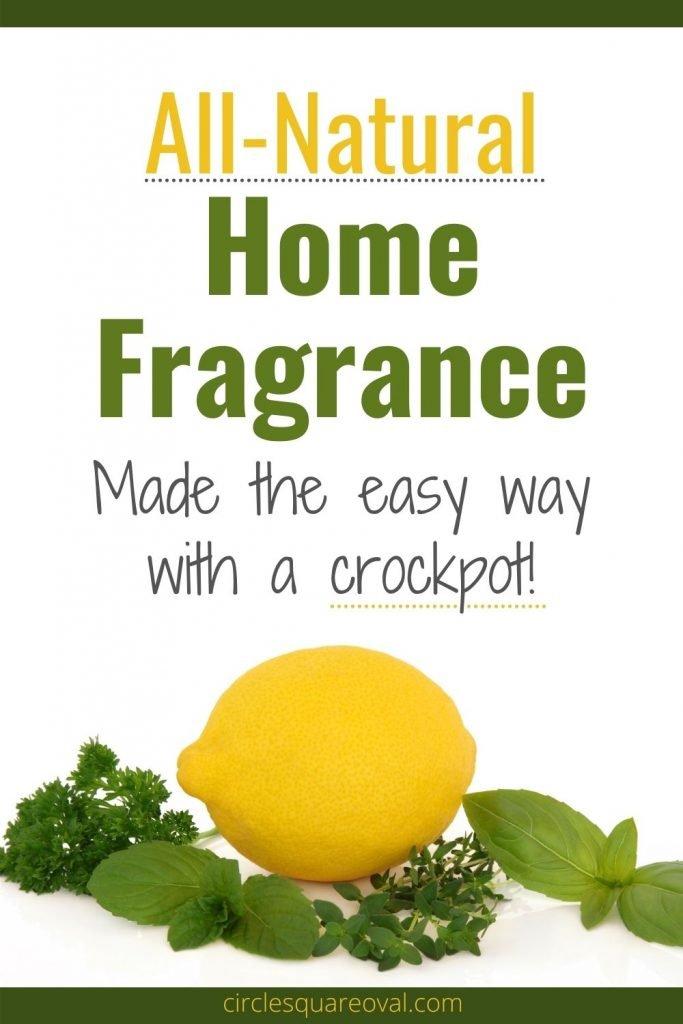 lemon and herbs for crockpot home fragrance