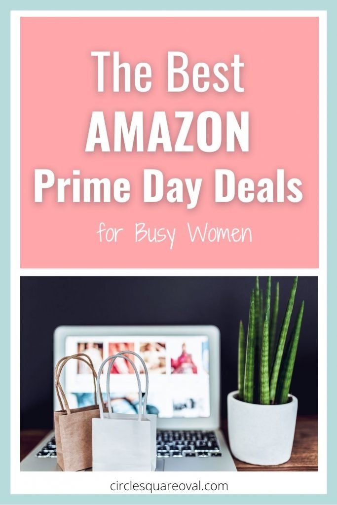 computer on shopping website, with small packages and snake plant