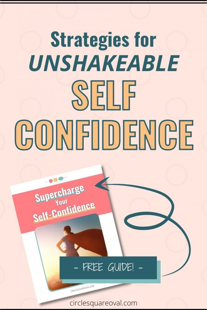 strategies to build unshakeable self-confidence, free ebook