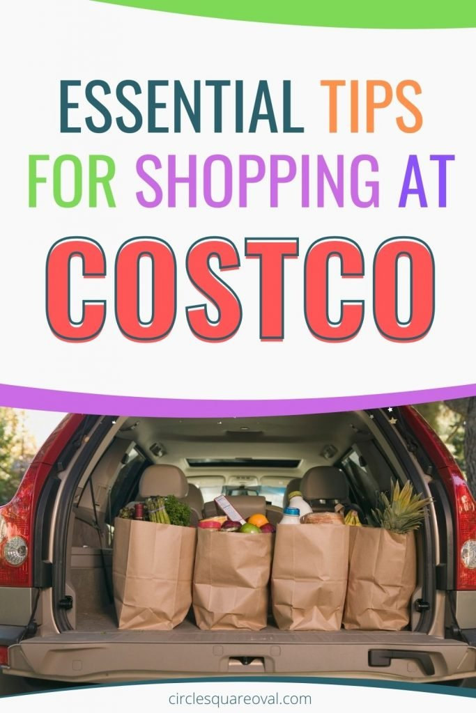 minivan loaded with Costco groceries