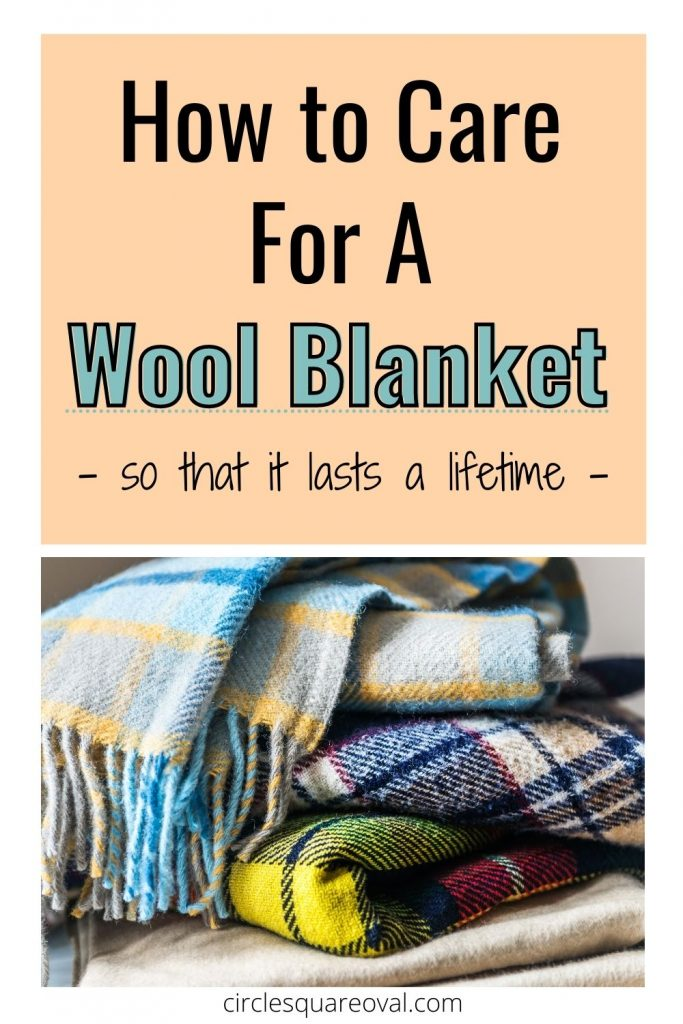 pile of plaid wool blankets