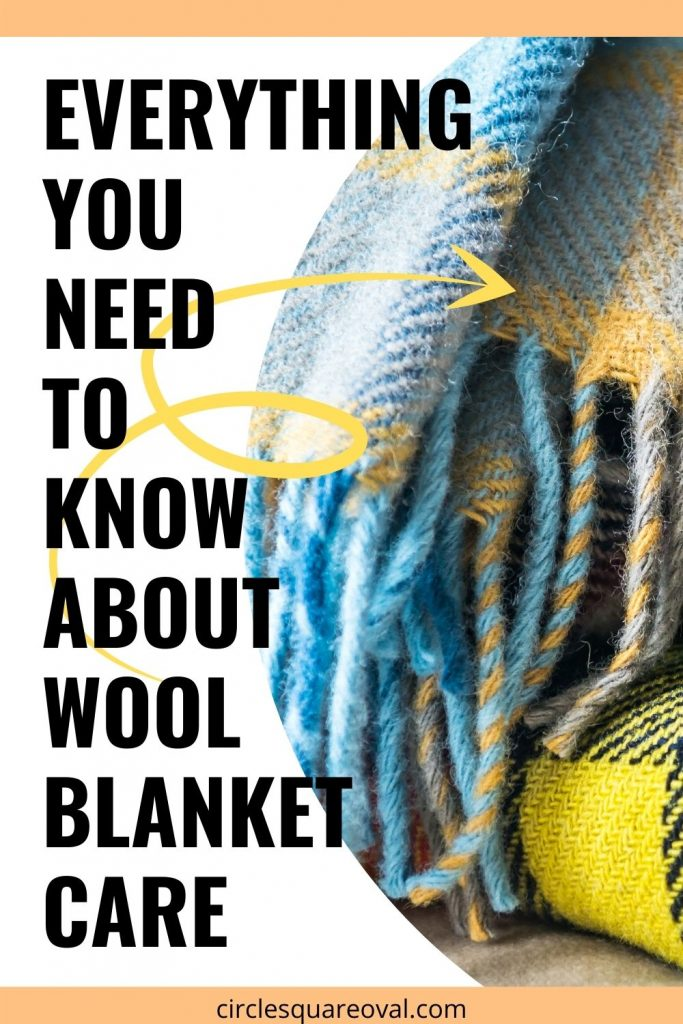 everything you need to know about wool blanket care
