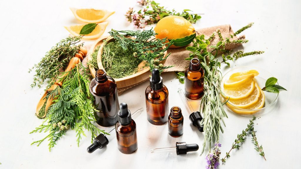 essential oils and the plants that they are made from