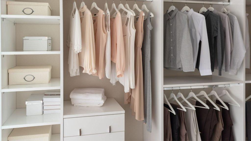 beautifully organized closet