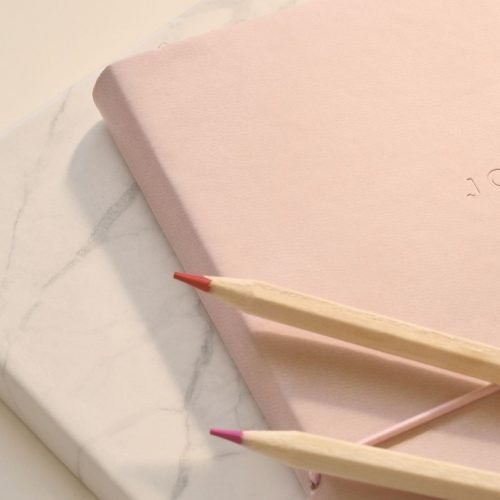 begin journal for personal growth