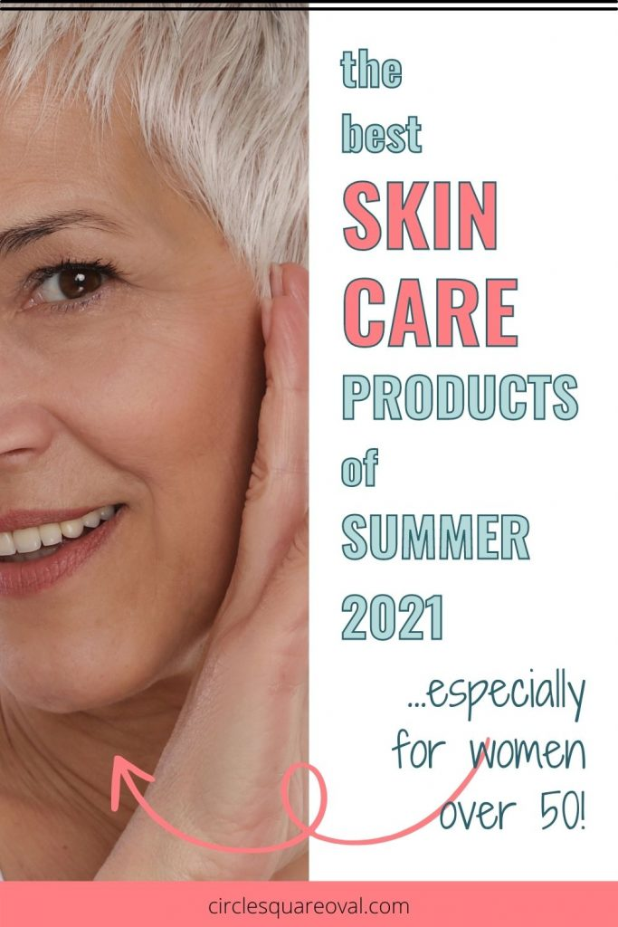 Older woman's closeup to show mature skin, Products for Mature Skin - the Best of Summer 2021