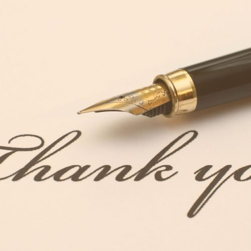 201 ways to say thank you in words