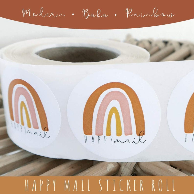 happymail stickers for envelopes, The Best Online Shops With Products to Make You Happy